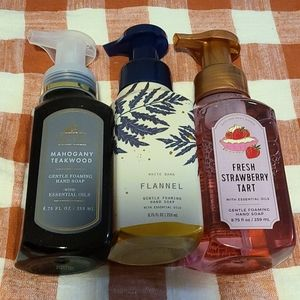 Brand New Bath and Body Works Hand Soap Set.